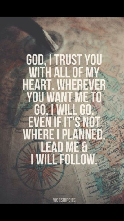 Send Me I trust You Lord