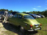 Love this car at Hollis farm.