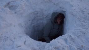 Derek made me get in the gopher pit.