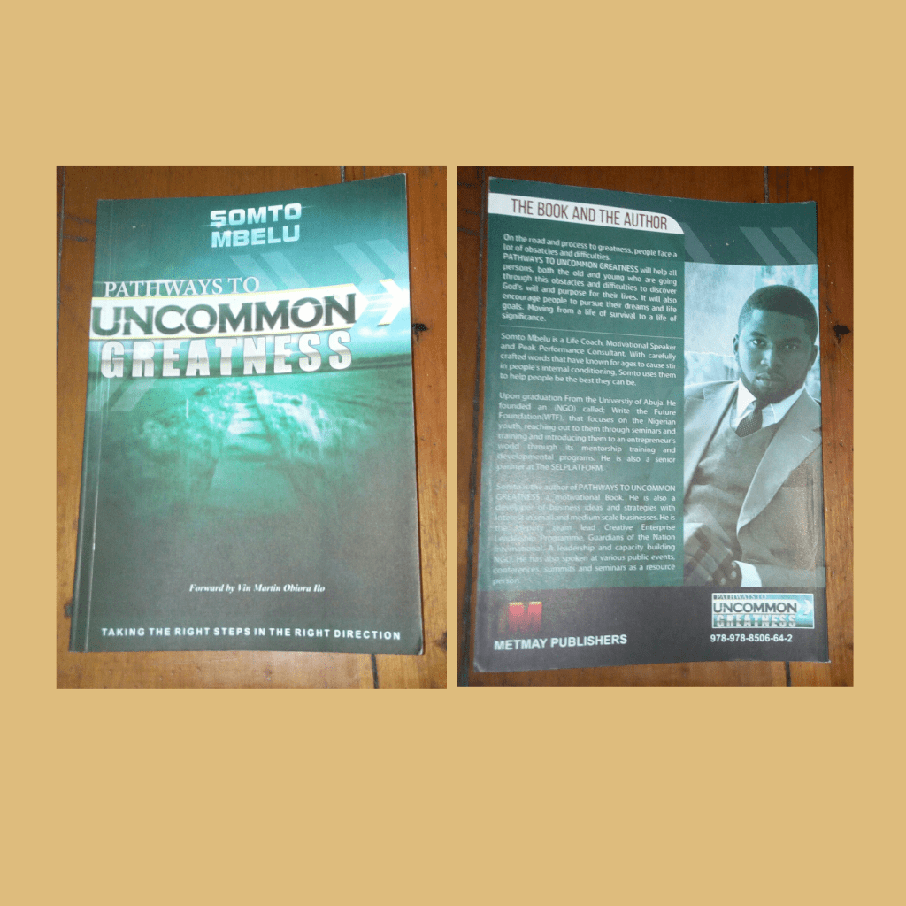BOOK REVIEW: PATHWAYS TO UNCOMMON GREATNESS