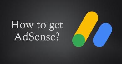 How to get Adsense