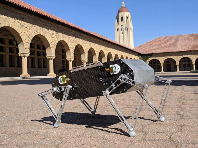 Robopes Doggo - ČVUT FEL Katedra řídicí techniky