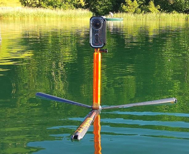 Amfibi.cz - plovoucí multifunkční tripod pro akční kamery