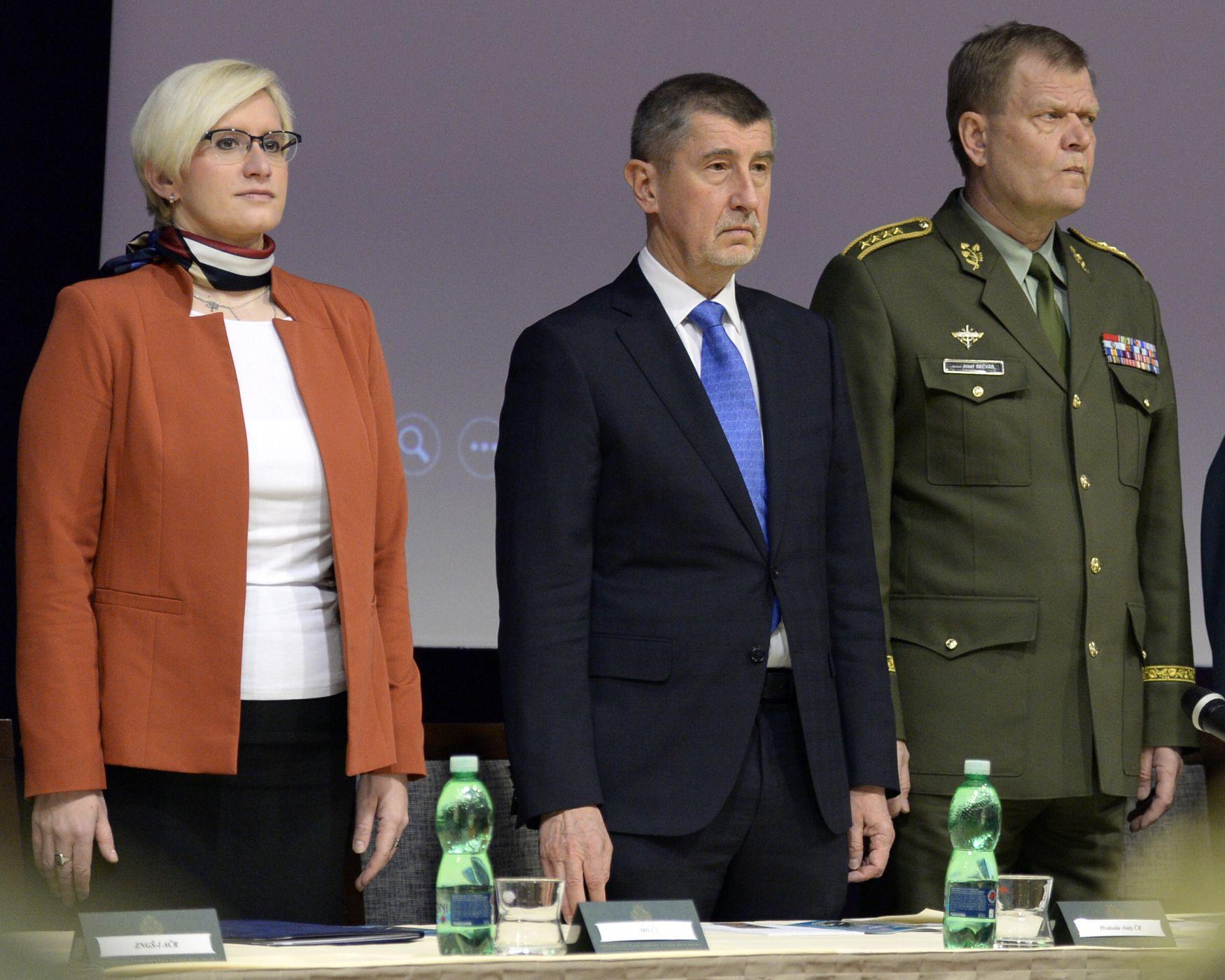 Czech Defence Minister Karla Slechtova