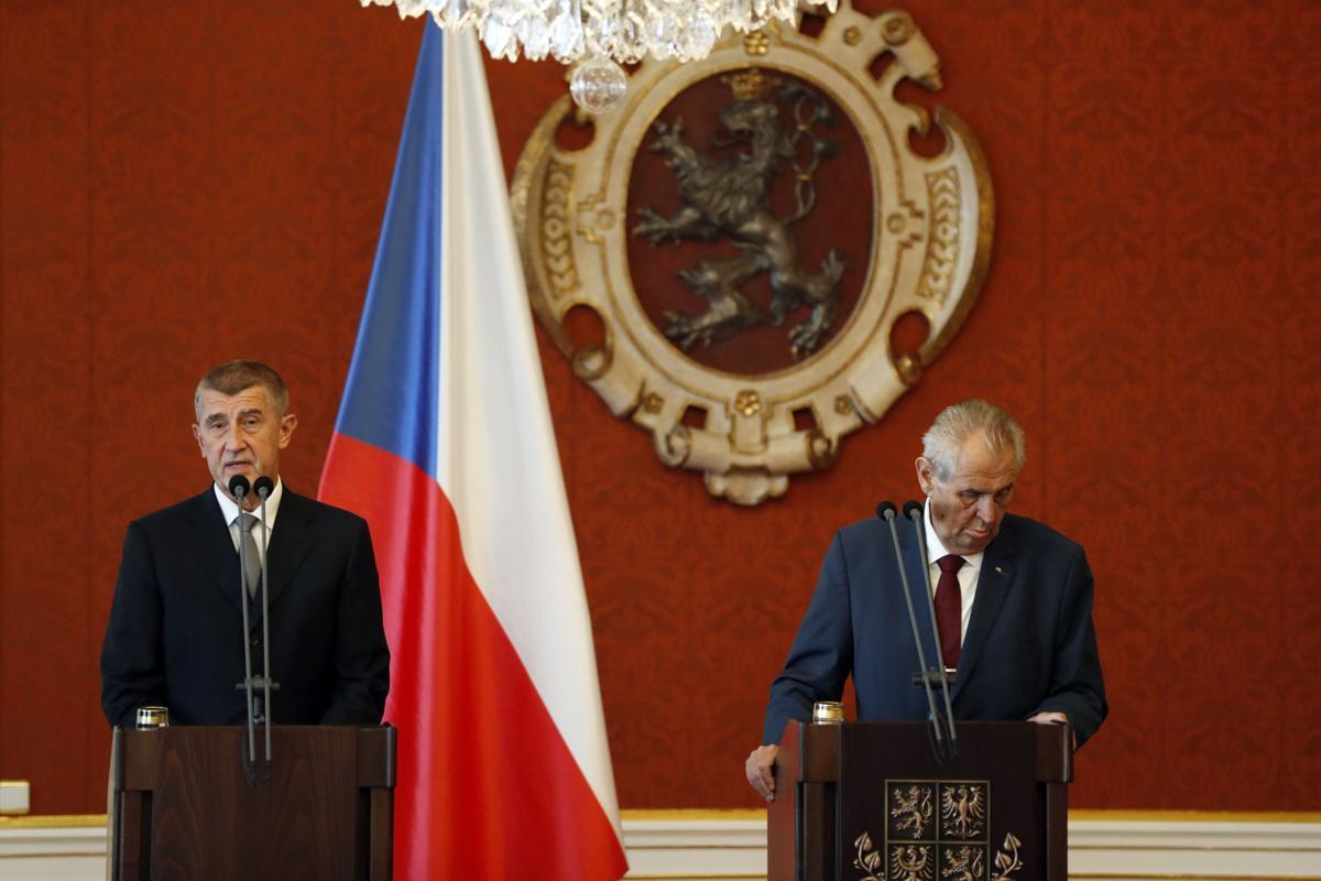 billionaire andrej babis appointed prime minister by president zeman