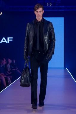 The ready-made-man deserved an urban update an all black ensemble