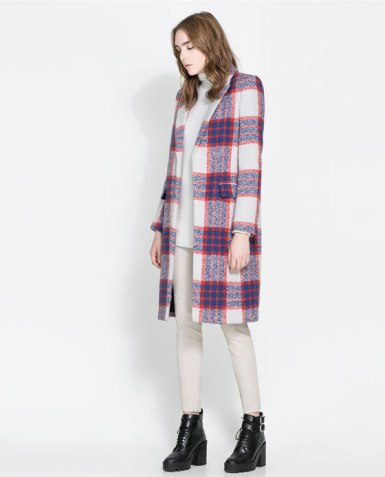 This is perhaps the last time you can grab an Angora coat from Zara- due to the the way these rabits are raised Zara will no longer carry anything Angora