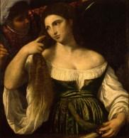 Prague guide, Prague gallery, Picture gallery, Prague castle, Tizian, A woman at her toilet, prague painting, art in prague, prague art, Rudolph II