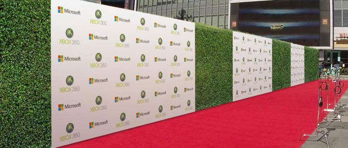 How to choose the perfect Step and Repeat Backdrop for Events