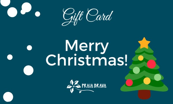 Gift card virtual Praia Brava