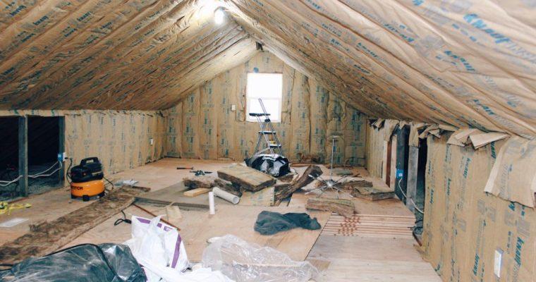 Attic Bedroom Update