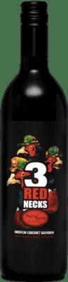 A bottle of 3Rednecks wine
