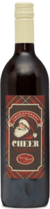 A bottle of Chokecherry Cheer.