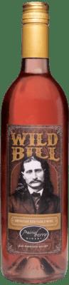 A bottle of Wild Bill wine.