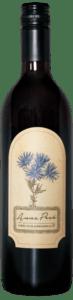 A bottle of Anna Pesä Blaufränkisch 2017, a dry red wine made in Hill City, South Dakota