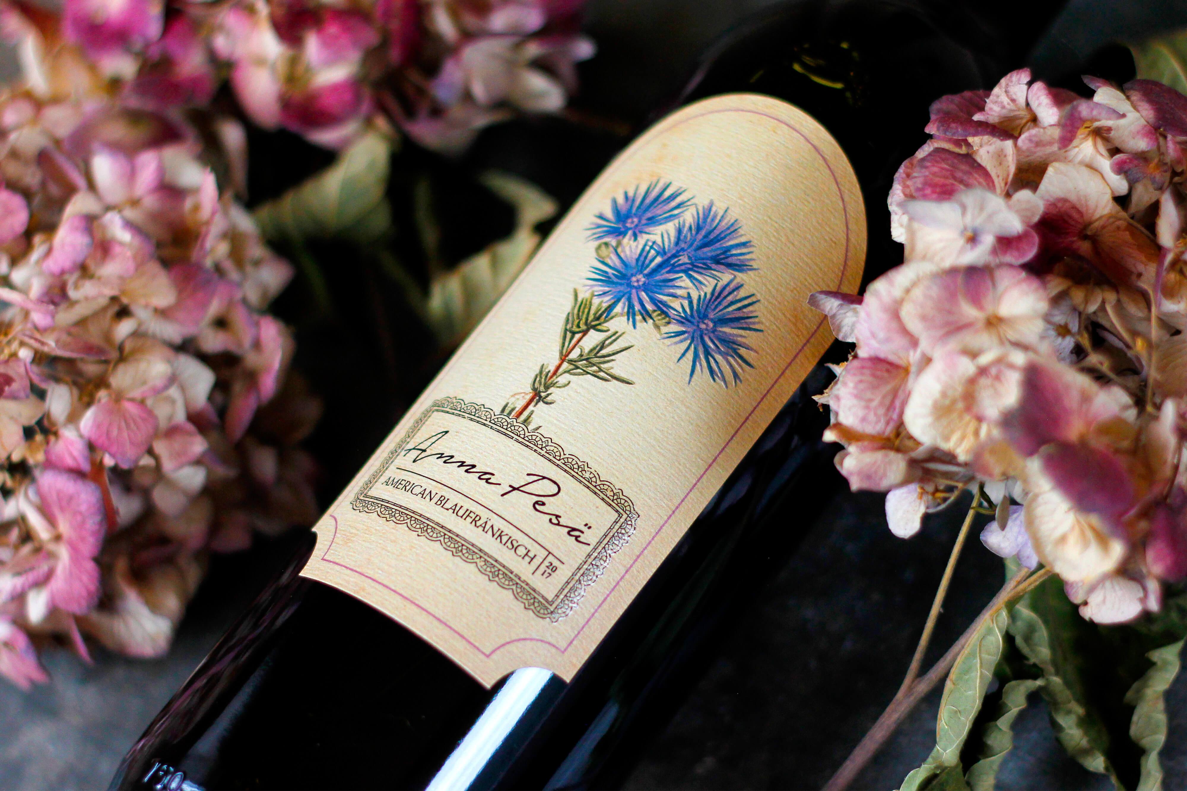 Anna Pesä Blaufränkisch 2017 is an award winning dry red wine with a light body notes of dark berries and cedar.
