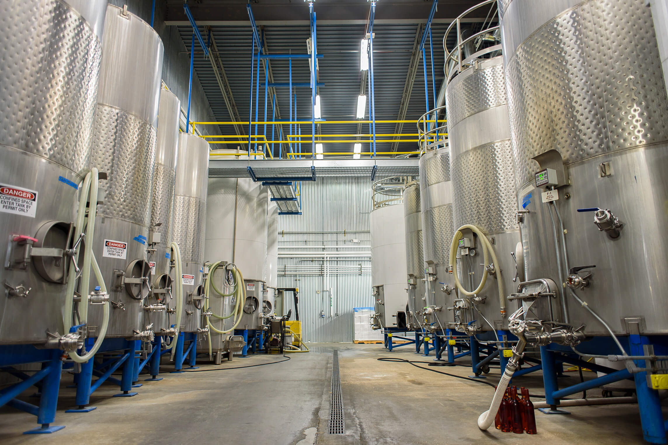 Prairie Berry Winery's state-of-the-art production facility.