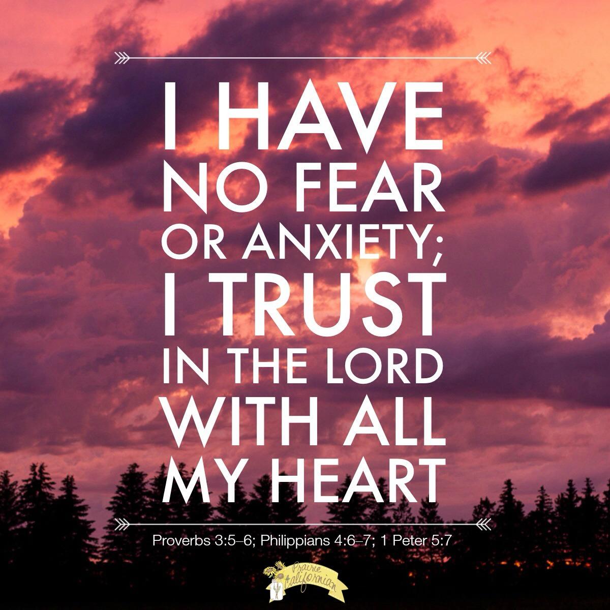 Faith Friday Trust In The Lord