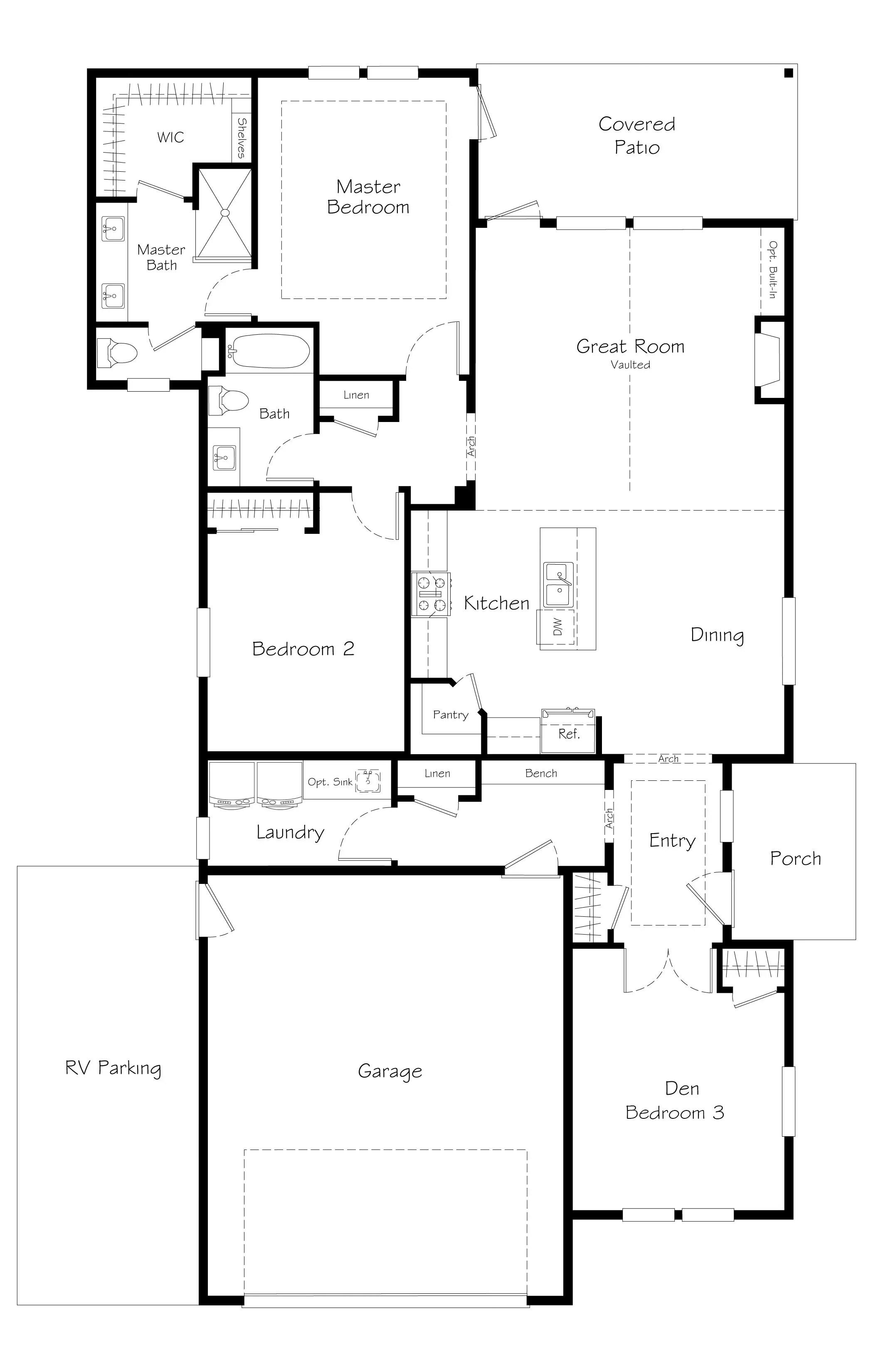 Connor Prairie Floorplan