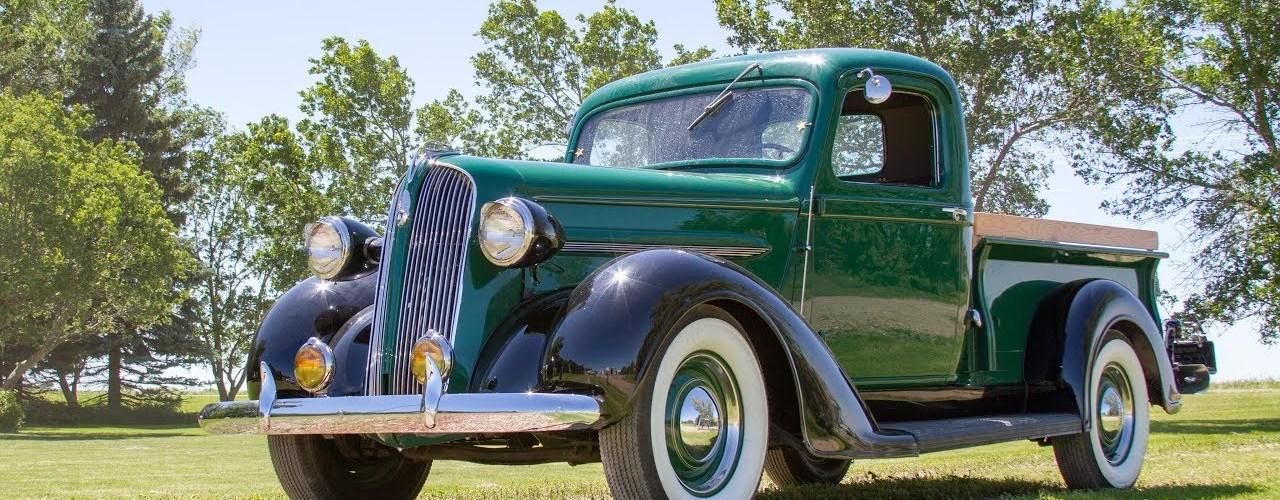 1937 Plymouth PT-50 Half-Ton Pickup – PFR