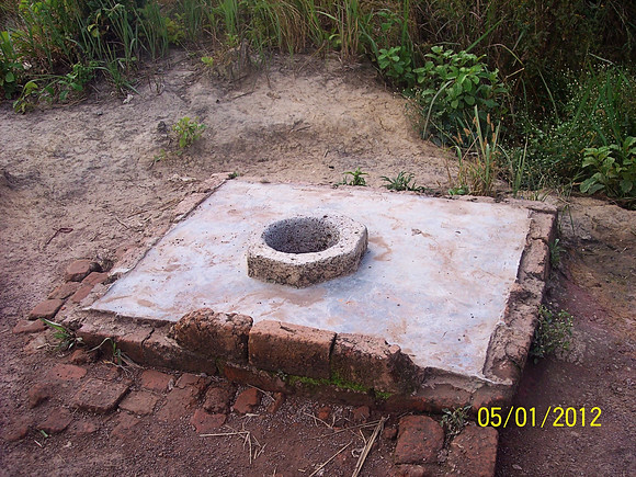 10 Meter Well (Wells on the property are such a blessing--many don't have them and must haul water)