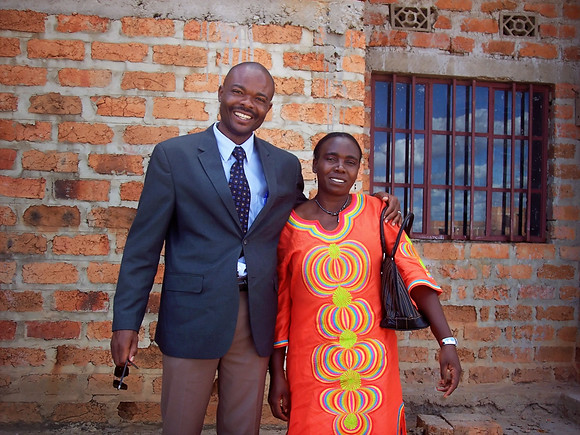 Pastor Didier and his lovely wife Annie