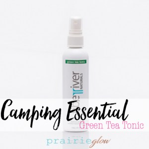 Tiber River Naturals Green Tea Tonic camping essential