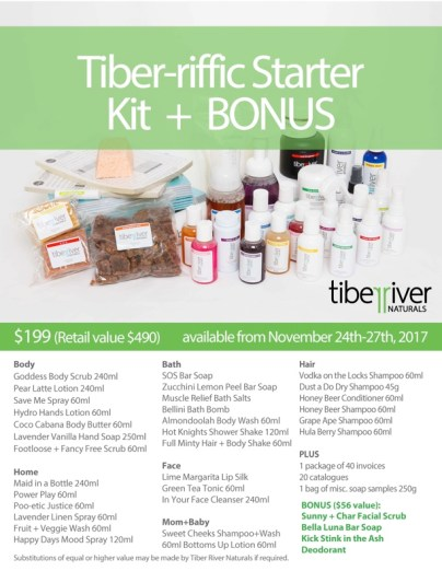 black friday tiber river naturals praire glow kit sale