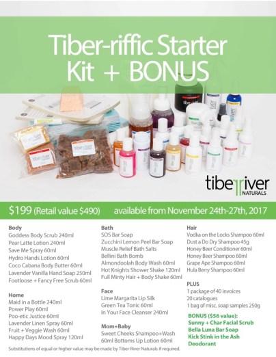 black friday tiber river naturals praire glow kit sale