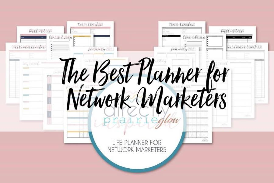 The Best Planner For Network Marketers