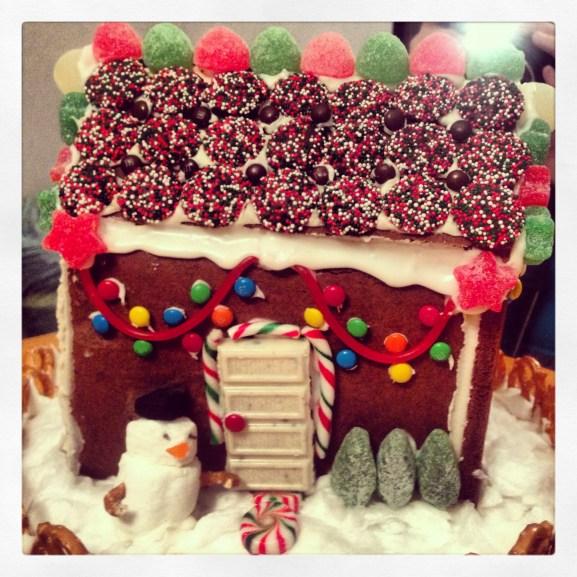 Chocolate Sugar Cookie House