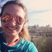 my last run on my last work trip in Edmonton