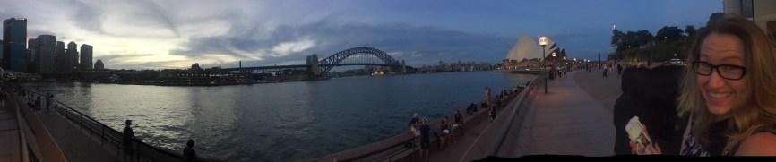 Panoramic of Circular Quay
