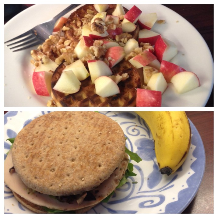Some of the meals I had while on Flat Belly Diet