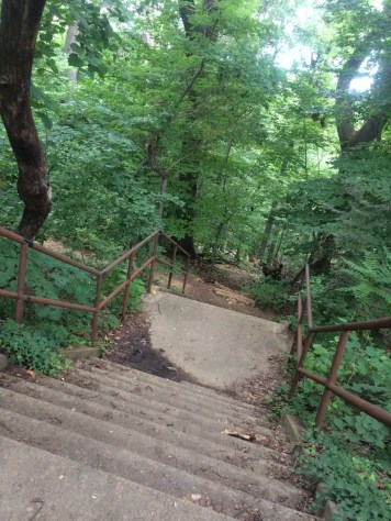 Found a great new place to run stairs!
