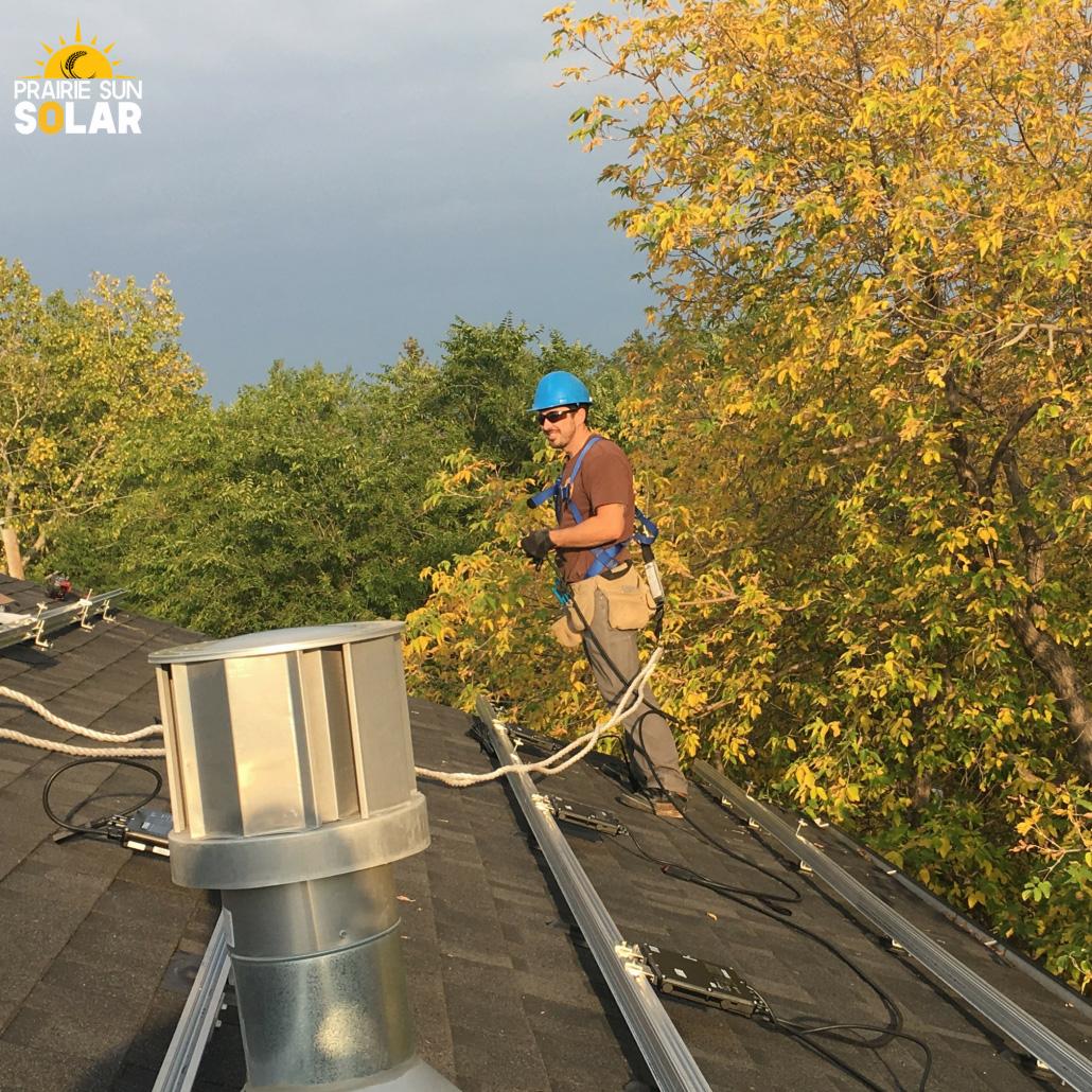 Slant-roof-worker