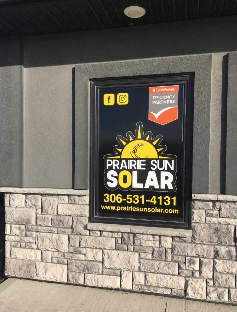 new solar company office
