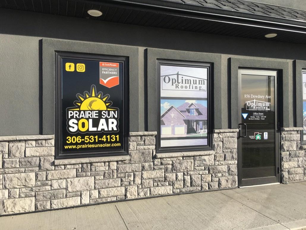 prairie sun solar new office