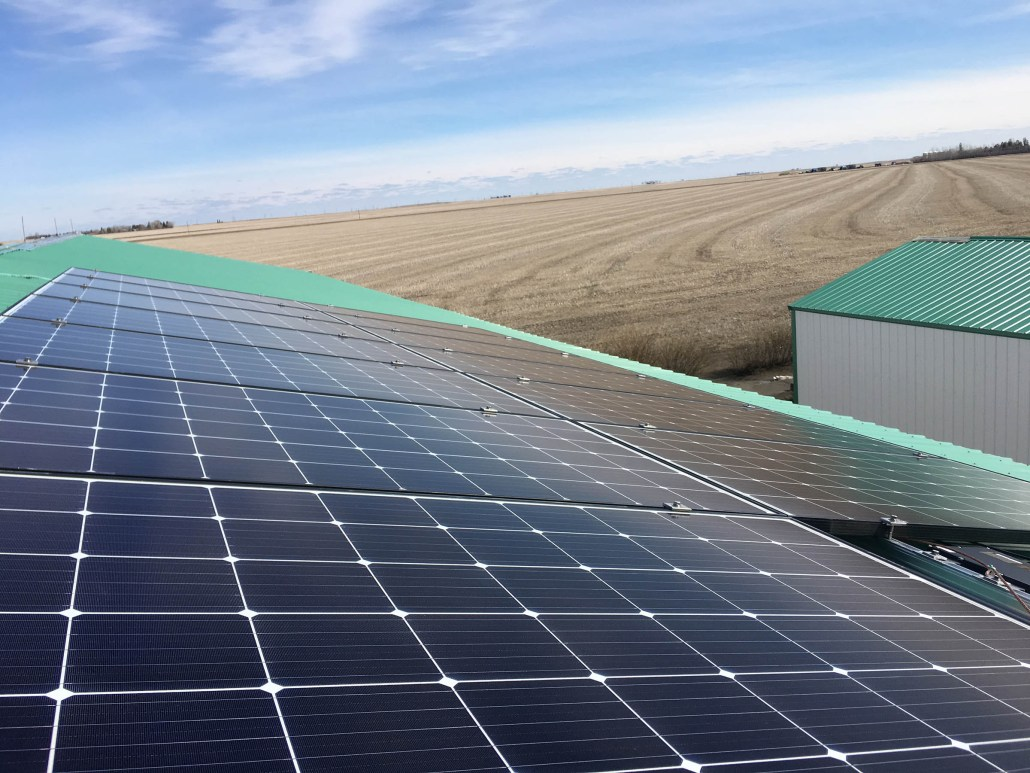 Installing solar panels on your barn