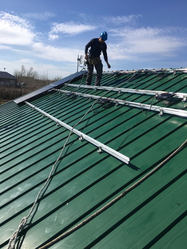 Solar Panels installed in Moose Jaw