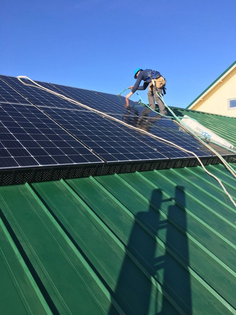 Solar Panels installed in Swift Current Sask