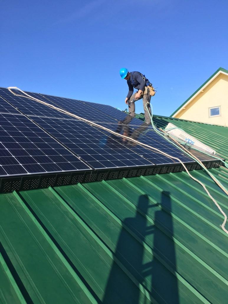 solar installed in Weyburn Saskatchewan