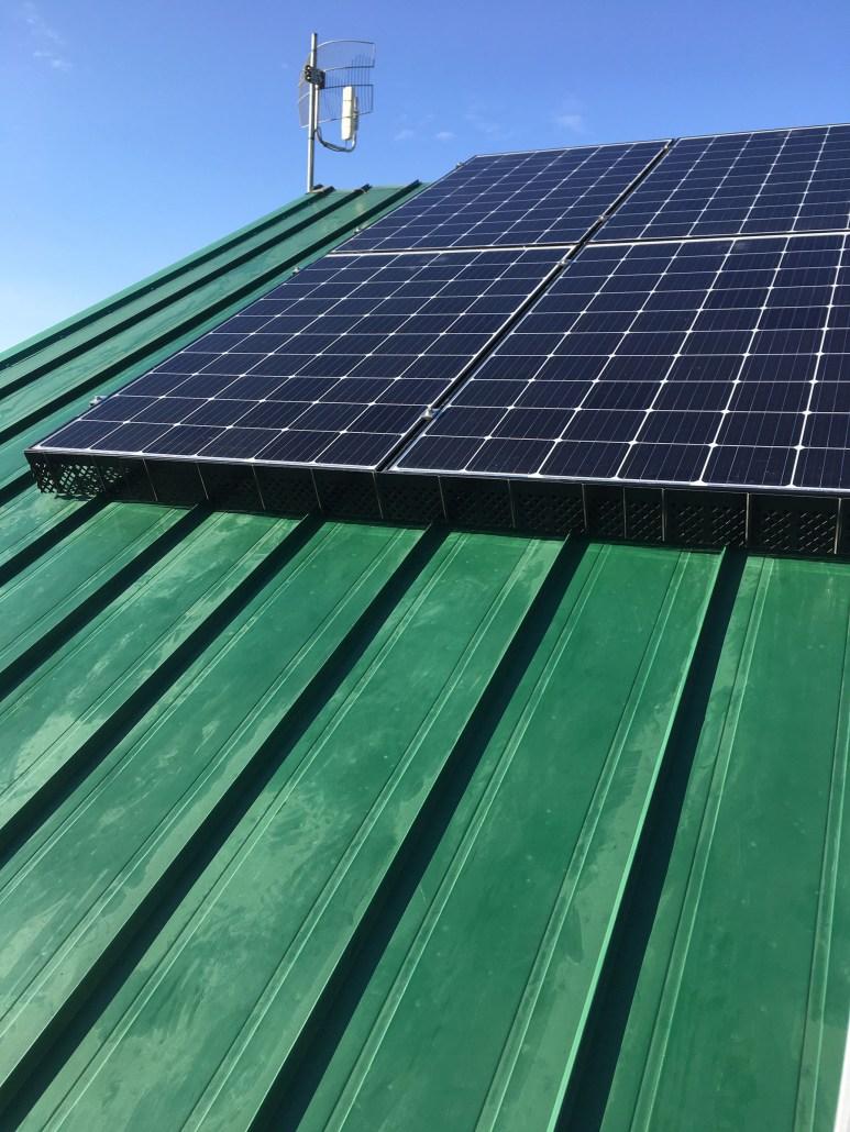 solar installed in rural sask