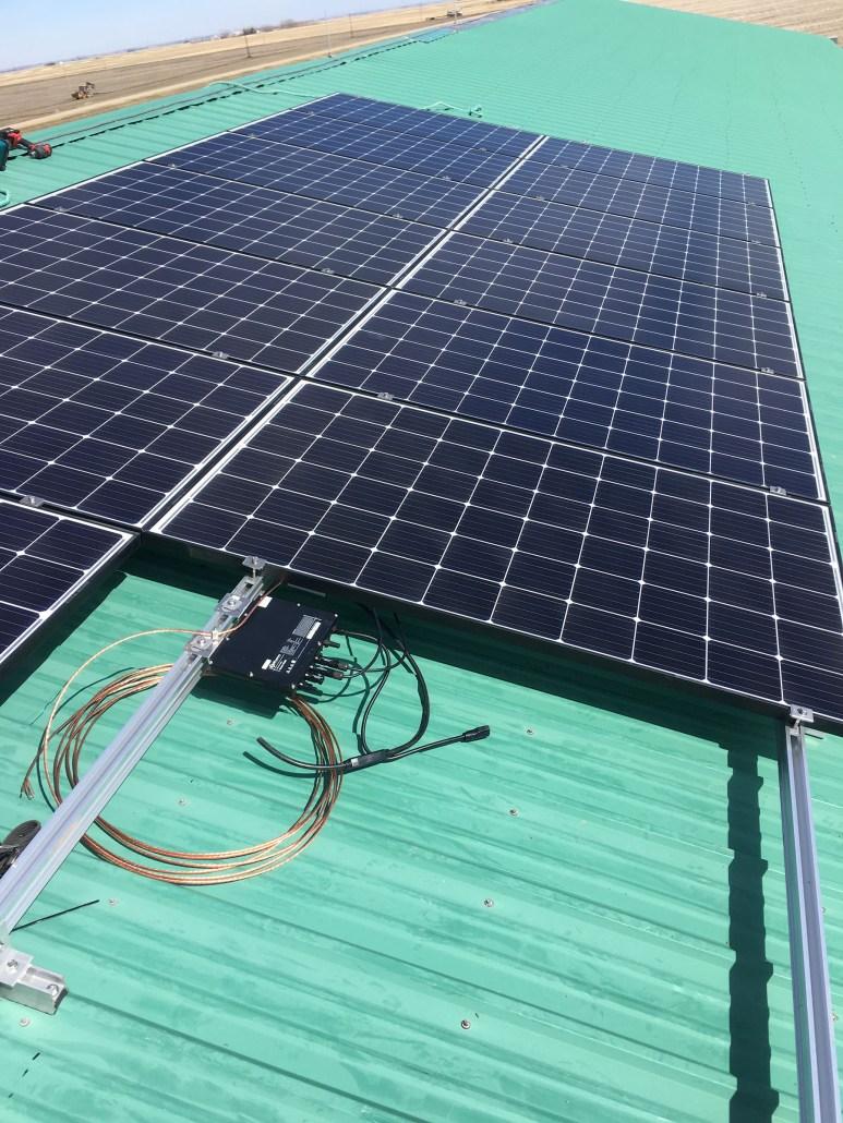 solar panels installed in Regina, SK