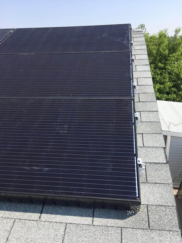 solar panel close up-prairie sun solar