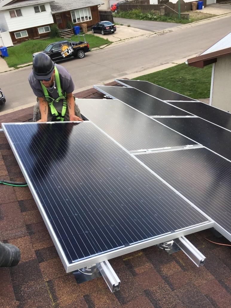 installing solar panels - residential solar