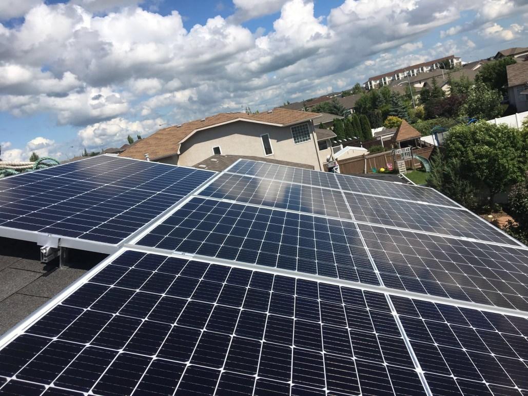 residential solar panel installation - saskatchewan solar