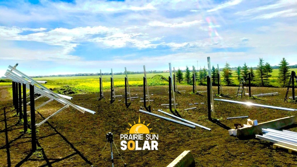 solar panel installation - prairie sun solar