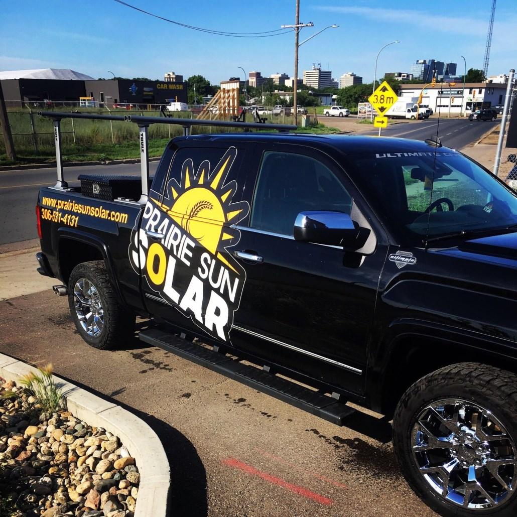 the prairie sun solar truck