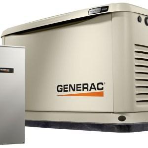 10 kW Generac Generator 16 Circuit